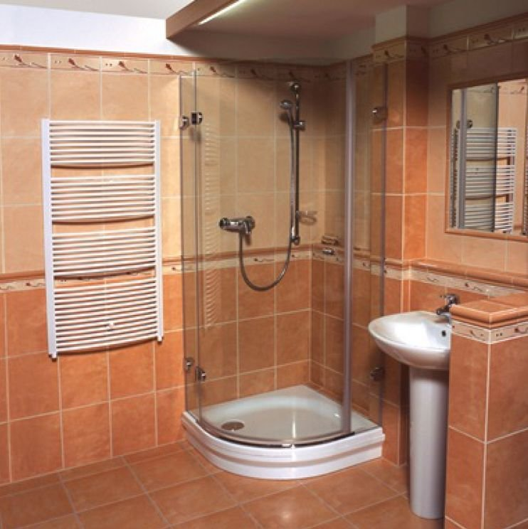 Как сделать душ в ванной комнате